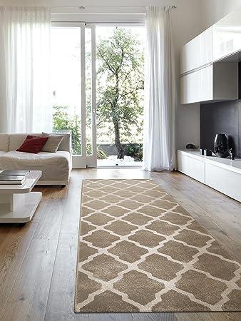 Teppich flur lang  benuta Teppiche: Teppich Läufer Lotus Beige 80x240 cm ...
