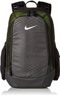 858846e3d1 Nike 25 Ltrs Black Volt Metallic Silver School Backpack (BA5474-010)