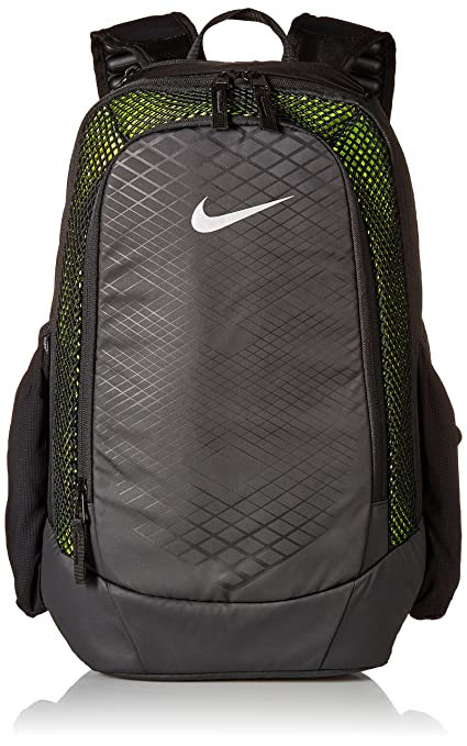 Men's Nike Vapor Speed Training Backpack Black/Volt/Silver Size One Size