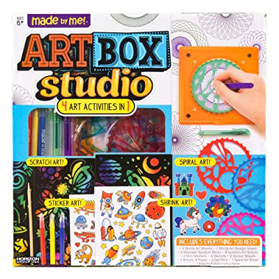 Made By Me Art Box Studio by Horizon Group USA: Toys & Games [5Bkhe0503016]