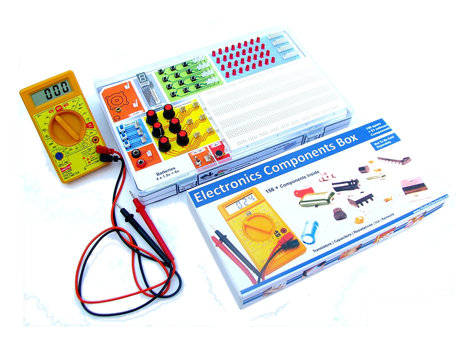 Electronics Project Kit 60 In 1 Circuits Ne555 Melody Circuit Projects