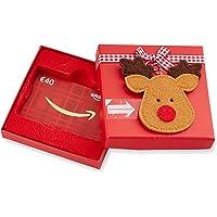 Amazon.de Geschenkkarte in Geschenkbox (Rentier) - mit kostenloser Lieferung per Post