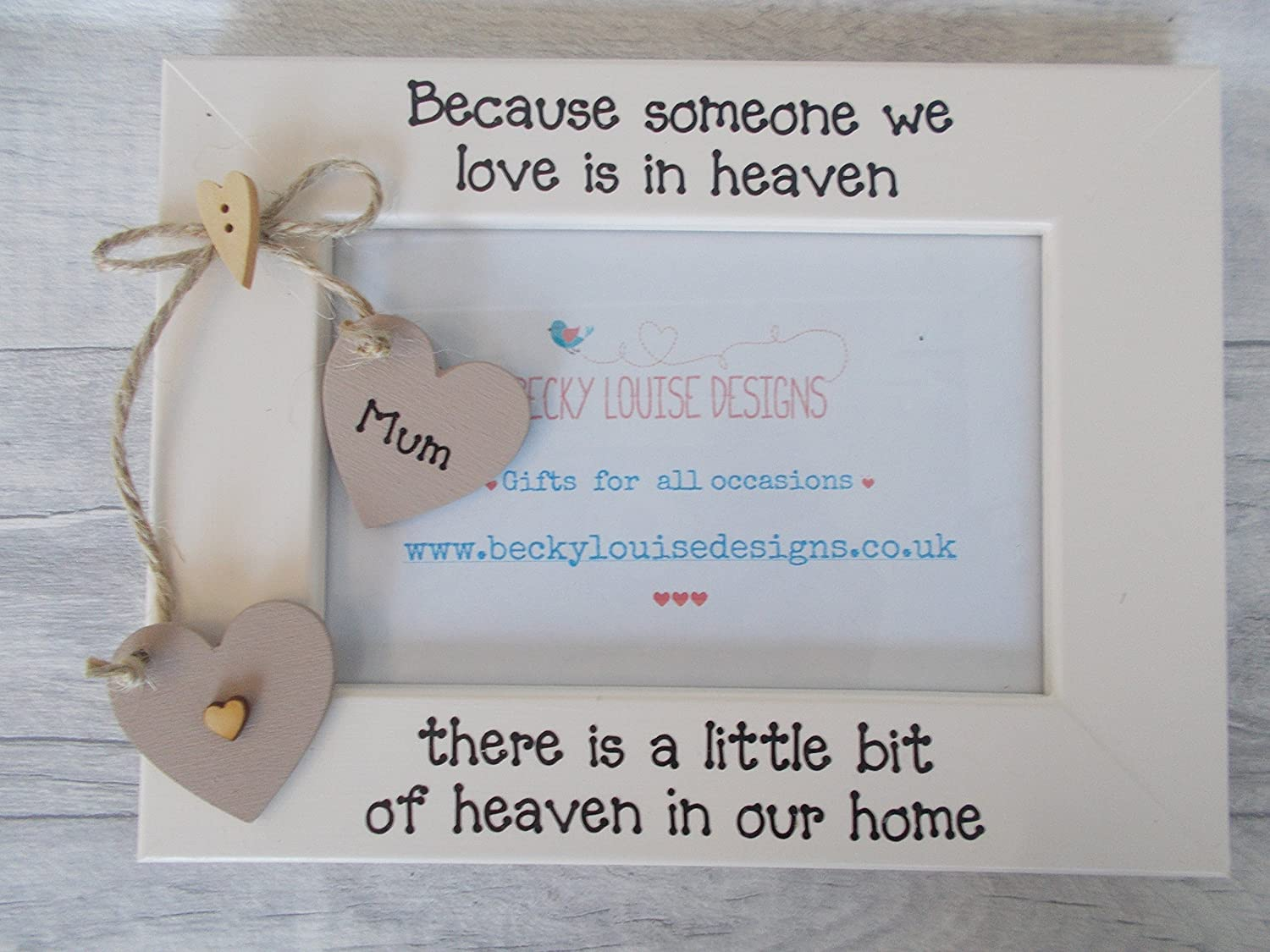 Grandad And Me Personalised Photo Frame Gift 6X4 5X7 8X6 10X8 ANY WORDING