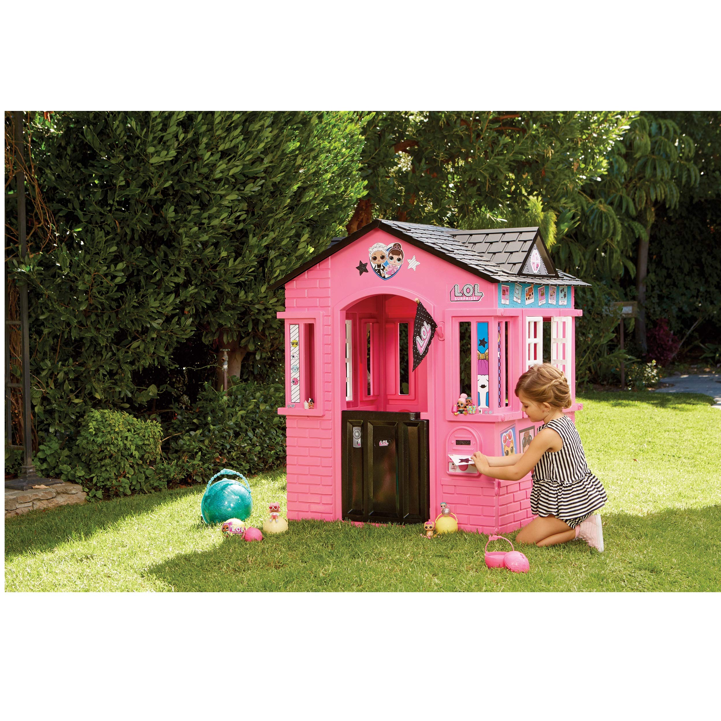 L.O.L. Surprise! Indoor & Outdoor Cottage Playhouse with Glitter by L.O.L. Surprise! (Image #4)