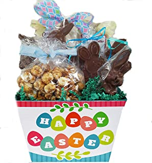 Amazon sjaaks organic vegan chocolate easter eggs bunny gourmet vegan chocolate easter basket large negle Image collections