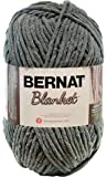 Bernat Blanket Yarn, 10.5 Ounce, Dark Grey, Single Ball