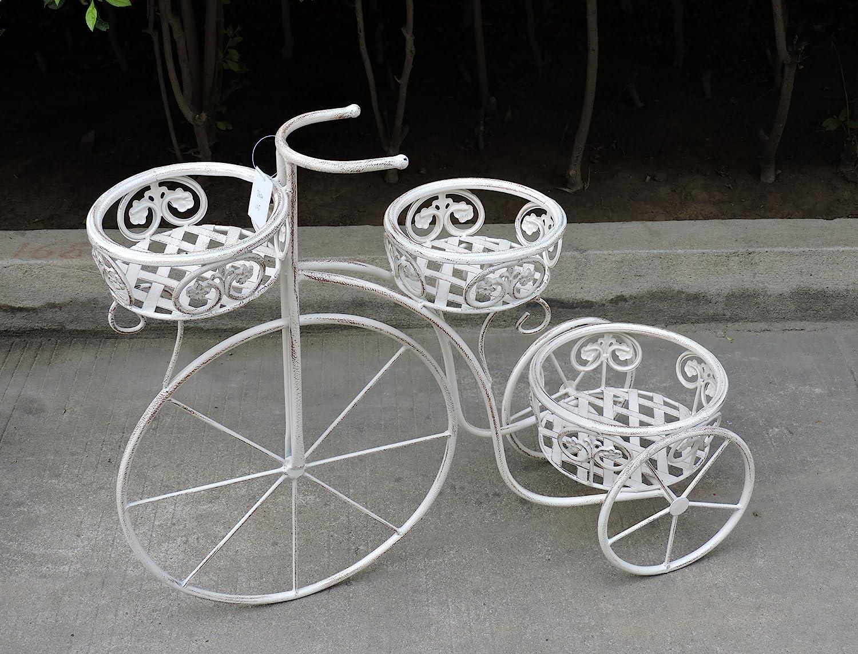 risparmia fino al 50% Euronovità Euronovità Euronovità EN-222203 Bicicletta porta piante con tre porta vaso H56 X 70 X 26 Cm  risparmia fino al 70% di sconto