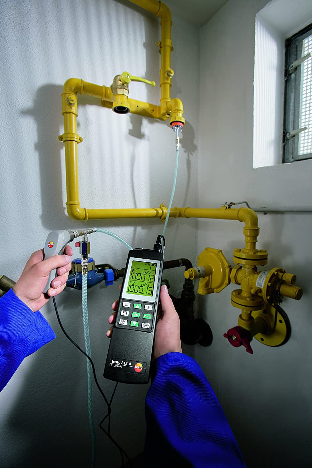 testo 312-4 Differential Pressure Meter up to 200 hPa