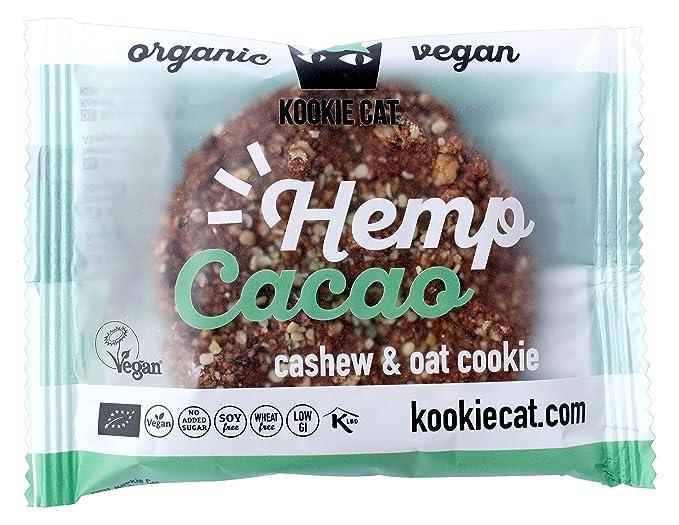 Kookie Cat, Galleta fresca rellena (Cáñamo, Cacao) - 12 de 50 gr