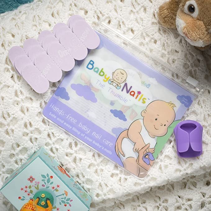 The Thumble - Wearable Baby Nail File image 2