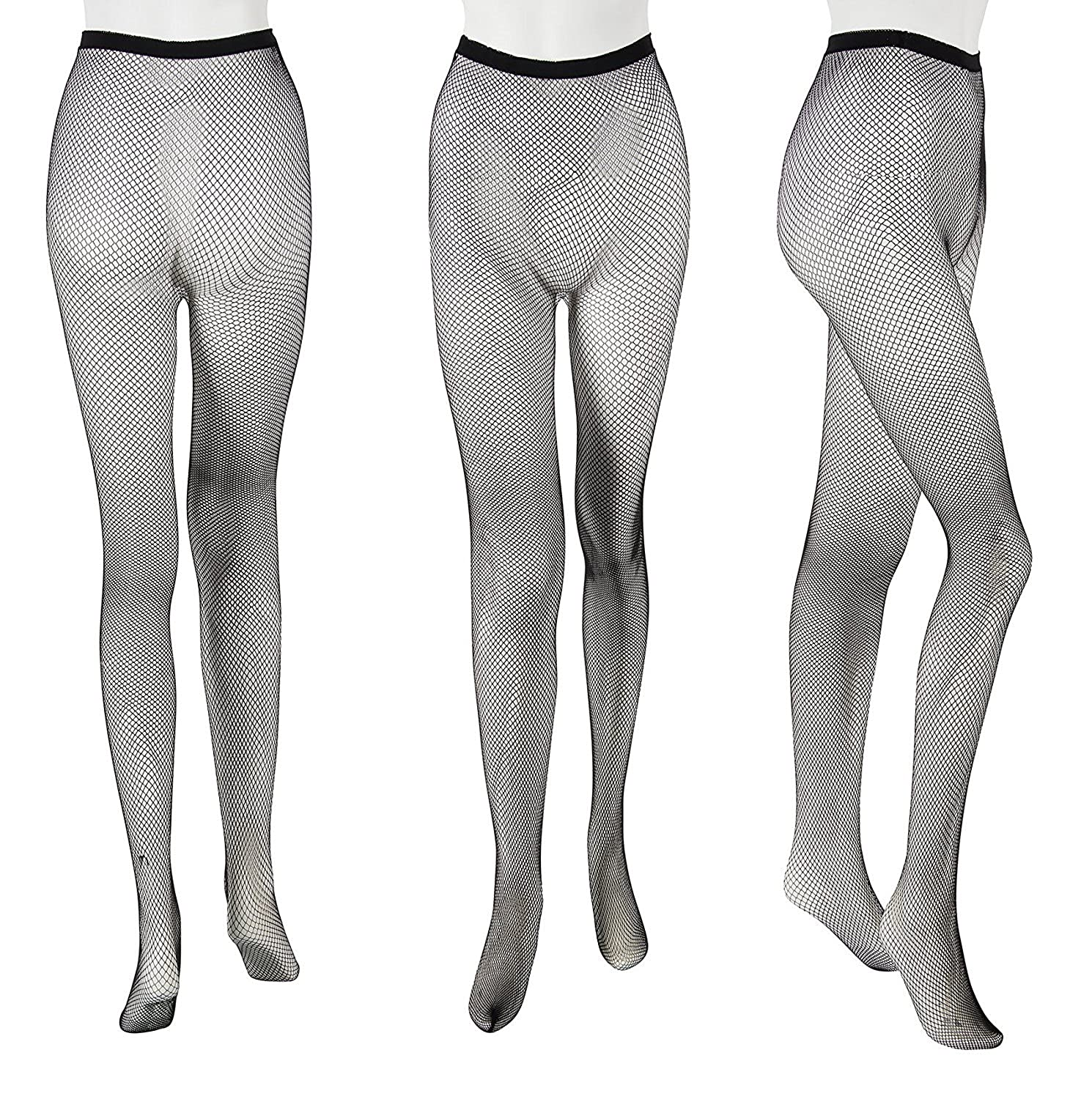 cf8f19088e2fd Amazon.com: Fishnet Tights - 3 Pack 3 Styles Sexy Fishnet Tights, Hollow  Out Fishnet Pantyhose for Women: Clothing
