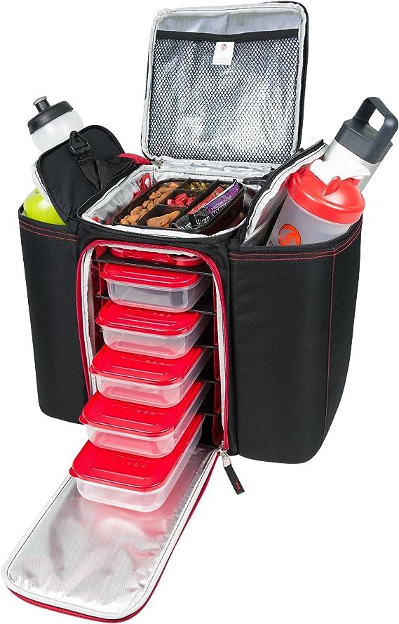 Paquete de 6 bolsas 500 Negro/Rojo Innovator: Amazon.es: Salud y ...