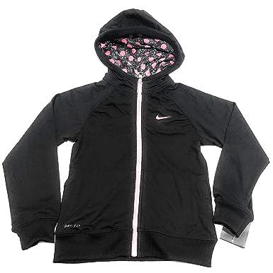 4773c79678 Nike Dri-FIT Sport Essentials Full-Zip Preschool Girls' Training Hoodie  Size: