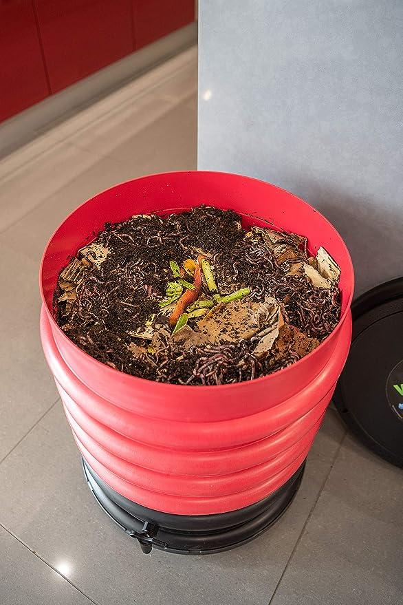 WormBox : Vermicompostador 3 bandejas Anis Verde - 48 litros