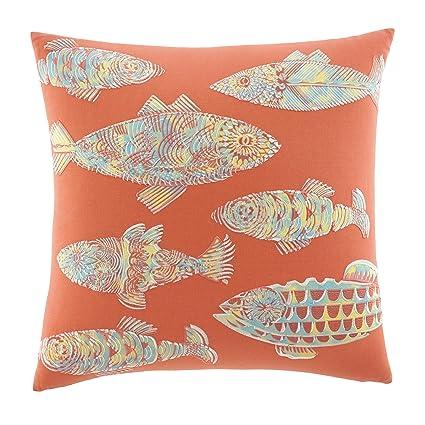 Amazon Tommy Bahama 40 Batic Fish Decorative Pillow Multi Classy Tommy Bahama Decorative Pillows