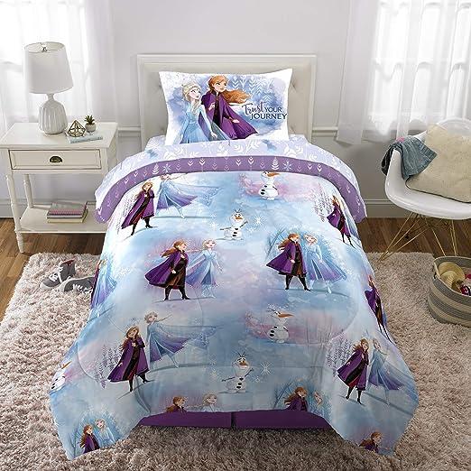 FROZEN 2 Bedding Set Disney Anna Elsa Olaf Single Bed Duvet cover and Pillowcase