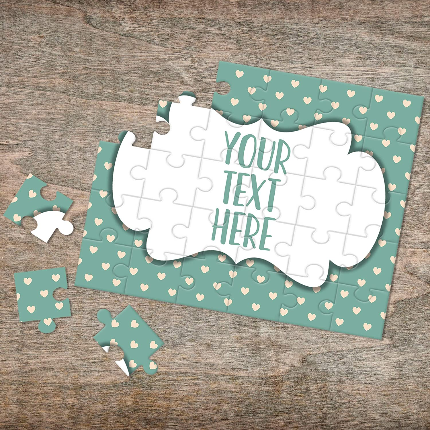 Create Your Own Puzzle CYOP0205 Wedding Announcement Custom Puzzle Pregnancy Announcement Announcement Ideas Personalized Puzzle