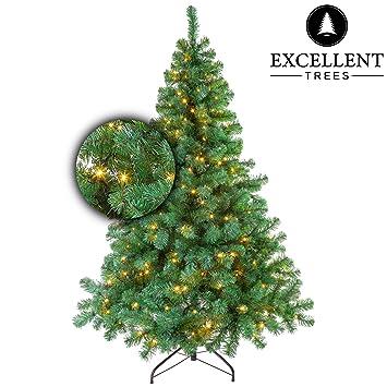 Künstlicher Weihnachtsbaum Mit Beleuchtung Kaufen.Excellent Trees Künstlicher Weihnachtsbaum Tannenbaum Christbaum Grün Led Stavanger Green 120 Cm Mit Beleuchtung 160 Lämpchen Beleuchtet