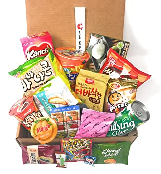 Premium Asian Snack Box (18 Count) | Variety Assortment of Korean Snacks Japanese  sc 1 st  Amazon.com & Amazon.com : Premium Asian Snack Box (18 Count) | Variety ... Aboutintivar.Com