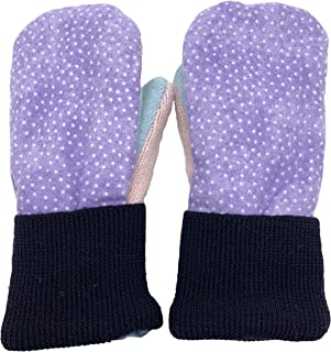 product image for Handmade Children's Flannel Fleece Wool Mittens Winter Kid's Gloves Made in USA