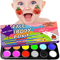 Red Pumkin Face Painting Kits for Kids