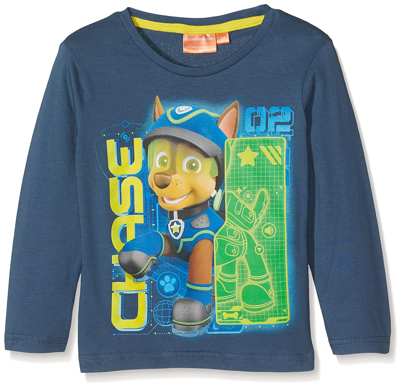 Nickelodeon Jungen T-Shirt Paw Patrol Here We Snow