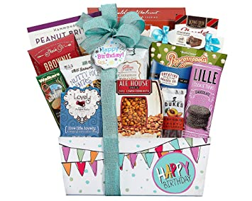 Image Unavailable Not Available For Color Wine Country Gift Baskets Happy Birthday