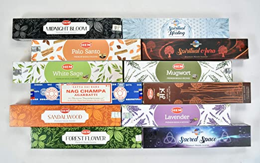 POPULAR AND PREMIUM INCENSE COLLECTION PACK OF 27 FRAGRANCE NAG CHAMPA SATYA