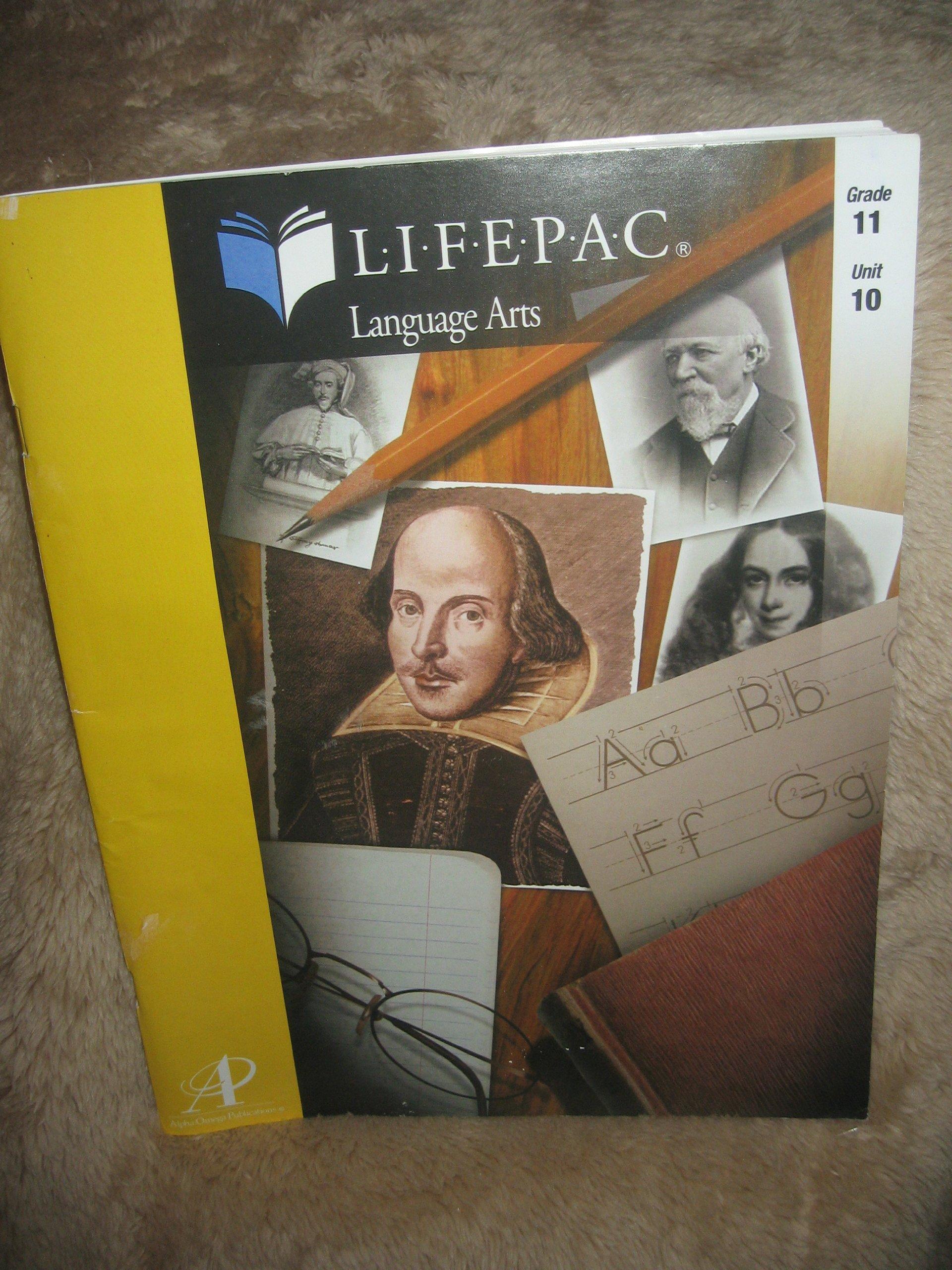 Lifepac Language Arts Grade 11 Unit 10 Reviewing Communication Skills and Literature pdf