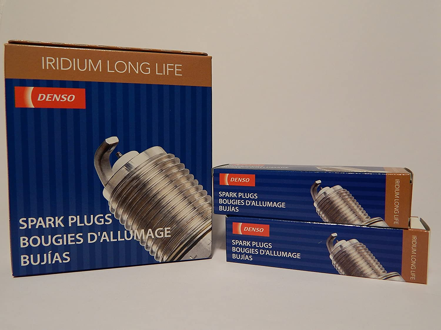 Amazon.com: DENSO # 3324 Iridium LONG LIFE Spark Plugs -- SK16R11 ----- 6 PCS * NEW *: Automotive