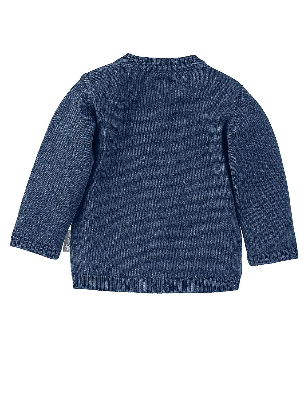 Blau Marine Sterntaler Baby Strick-Jacke f/ür Jungen Baylee