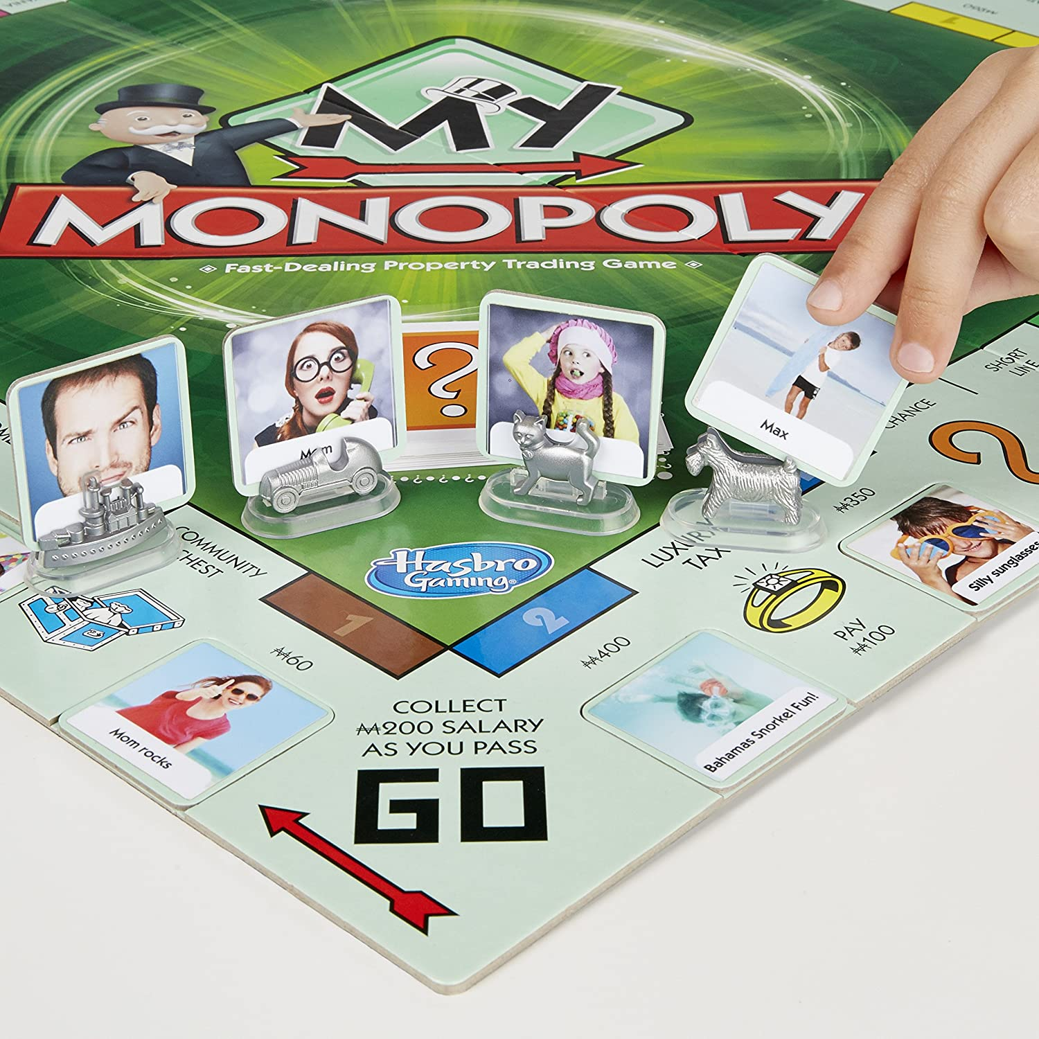 My Monopoly Monopoly Board Game Amazoncouk Toys  Games