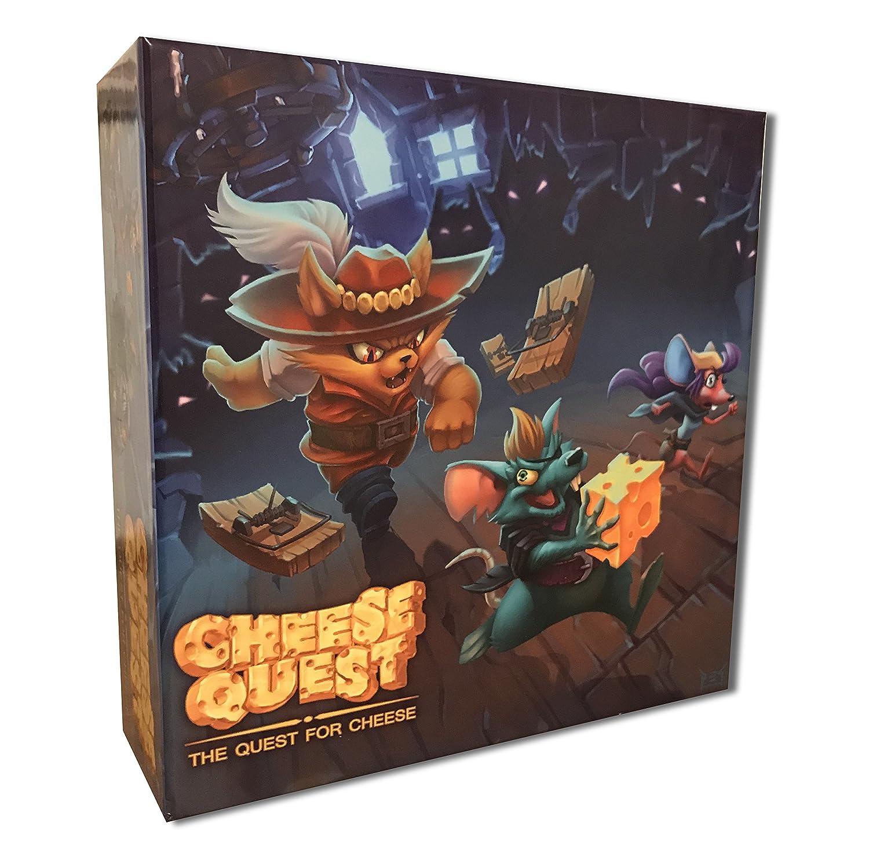 2019春の新作 Cheese Quest: The The Quest Cheese for B07FG1JHH3 Cheese B07FG1JHH3, マルトスポーツ:3619a3bb --- ballyshannonshow.com