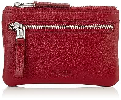 Bree Damen Liv 100 Brick Red Key Case Geldborse Rot 1x7 5x11 5