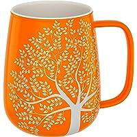 Amapodo XXL kaffekopp med handtag, stor jumbo kaffemugg, presentidé för kvinnor och män