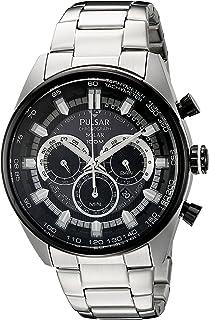 amazon com pulsar men s px5037 solar chronograph analog display rh amazon com Women's Pulsar Digital Watches with Year Pulsar Digital Watches for Men