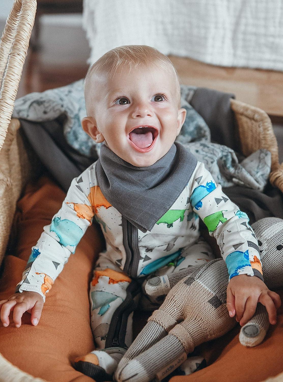 Earthy Organic Baby Pajamas 2-Way Zipper Sleeper Boy Girl 100/% Organic Cotton