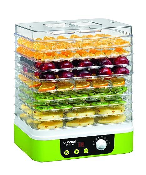 Concept Electrodomésticos - Deshidratador de Alimentos In Time Temporizador: Amazon.es: Hogar