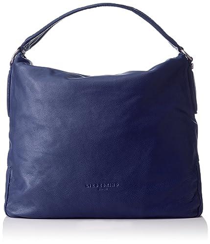Damen Jeanye Schultertaschen, Blau (Indigo Blue 5816), 39x36x19 cm Liebeskind