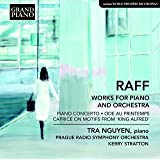 Joachim Raff: Works for Piano and Orchestra [Tra Nguyen; Prague Radio Symphony Orchestra; Kerry Stratton] [Grand Piano: GP771]