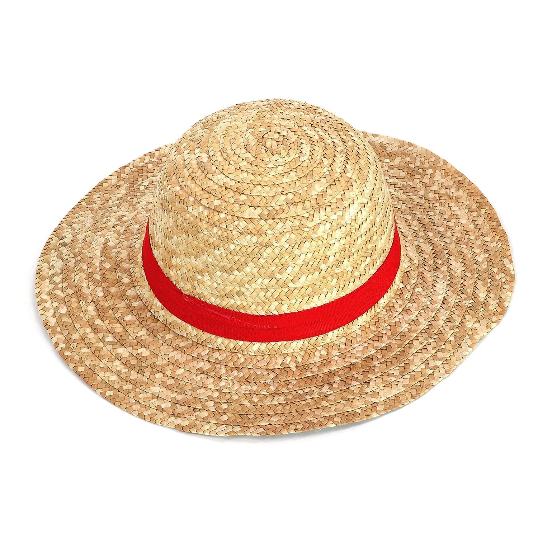 Sombrero Paja One Piece Monkey Luffy Ruffy  Amazon.es  Juguetes y juegos 7c728e23596