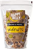 Happy Belly California Walnuts, Halves and Pieces, 16 Ounce
