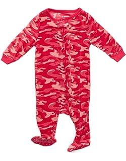 Leveret Fleece Baby Girls Footed Pajamas Sleeper Kids   Toddler Pajamas (3  Months-5 dcac51058