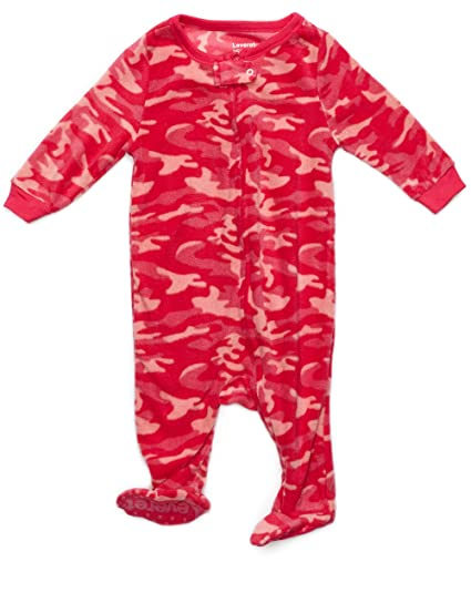 Amazon.com  Leveret Fleece Baby Girls Footed Pajamas Sleeper Kids   Toddler  Pajamas (3 Months-5 Toddler)  Clothing 805347242