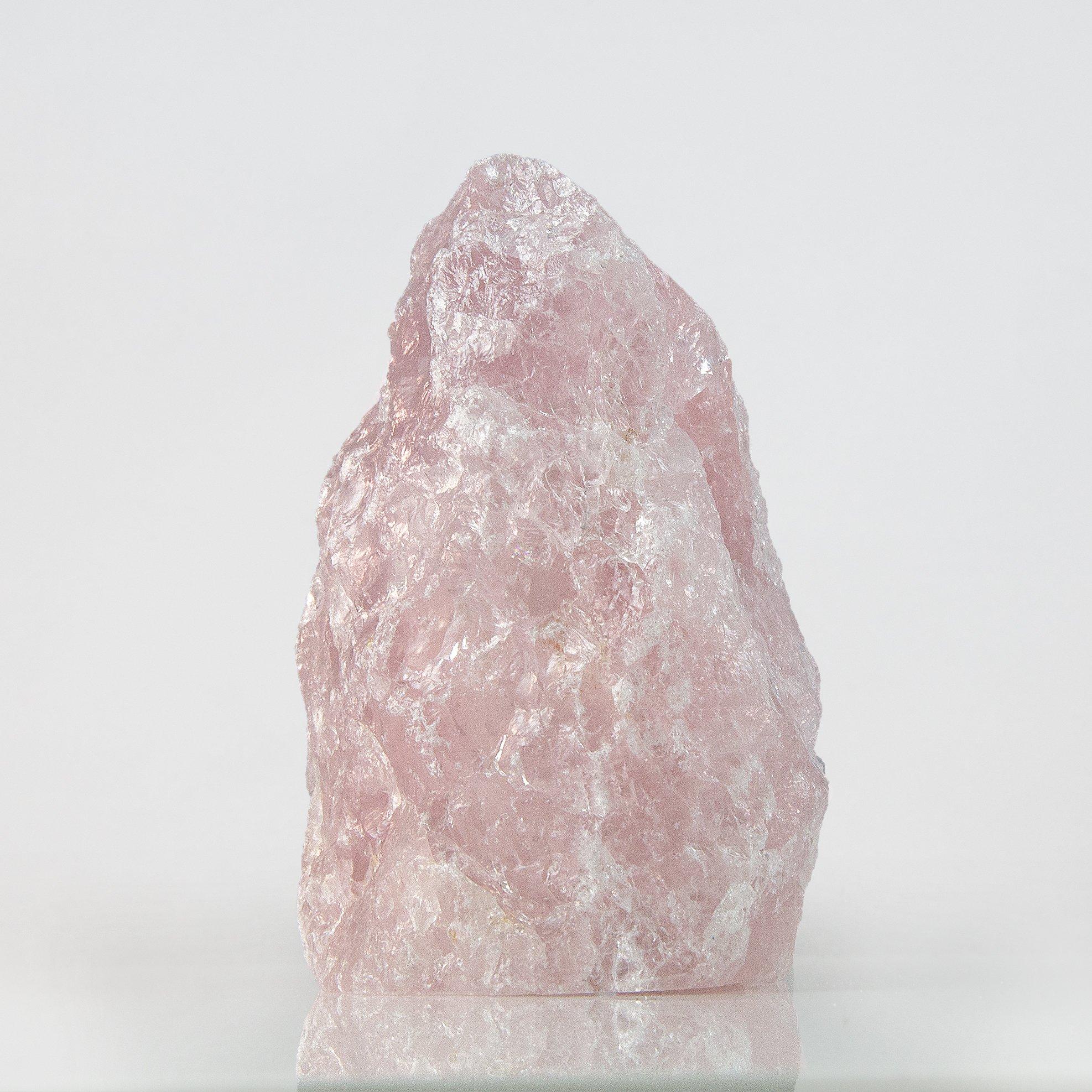 Beverly Oaks Rose Quartz Crystal Lamp - Pink Quartz Light - The Original Love Stone