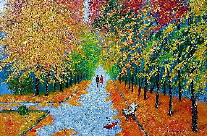 c79fc8c06 Amazon.com: We Met In The Park: Olga Mihailicenko: Fine Art