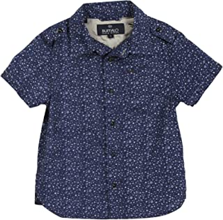 Buffalo Little Boys' Siwux Denim Shirt (Toddler/Kid) - Stilton 1022026Littleboys