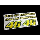PEGATINAS ROSSI 46 MOTO GP REF:ECO08 STICKERS VALENTINO AUFKLEBER DECALS ADESIVI