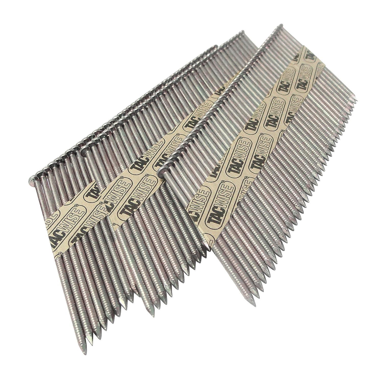 Tacwise 1125 Clavos en pleine galvanizados y anillados 2.8//65 mm
