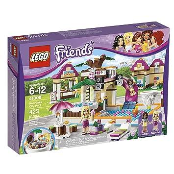 Amazon.com: LEGO Friends Heartlake City Pool 41008: Toys & Games